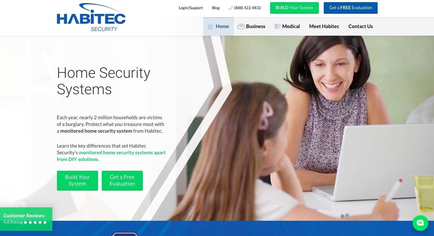habitec security main page